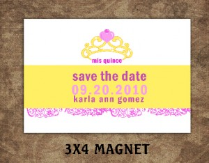 save the date quinceanera -