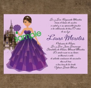 sweet fifteen invitations quinceanera