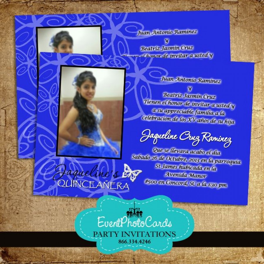 Royal Blue And Pink Wedding Invitations is amazing invitation sample