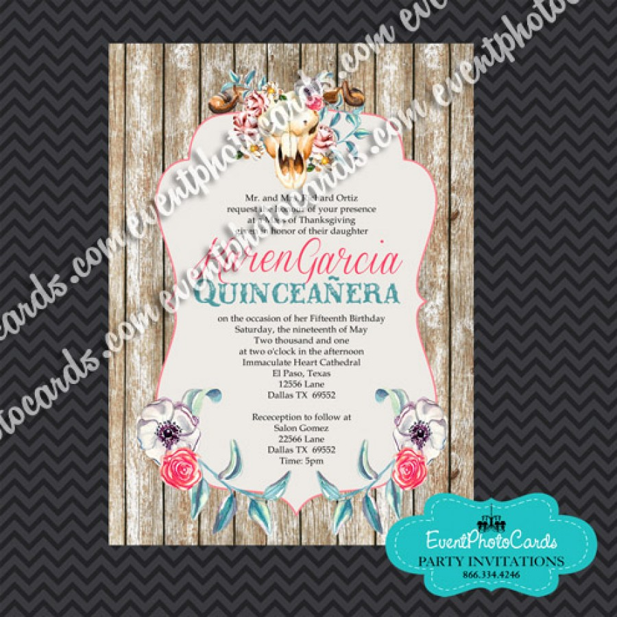charro quinceanera invitations  quinceanera invitations