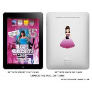 Ipad Quinceanera Photo Invitations