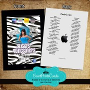 Ipad Lover Quince Invitation