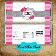 Chanel Candy Wrapper Favor Quinceanera