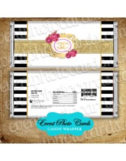 Chanel Gold Candy Wrapper Favor Quinceanera