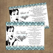 Breakfast at Tiffany Invitations - Quinceanera