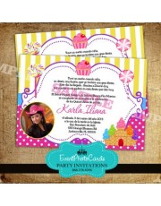 Candyland Quinceanera Invitations A1