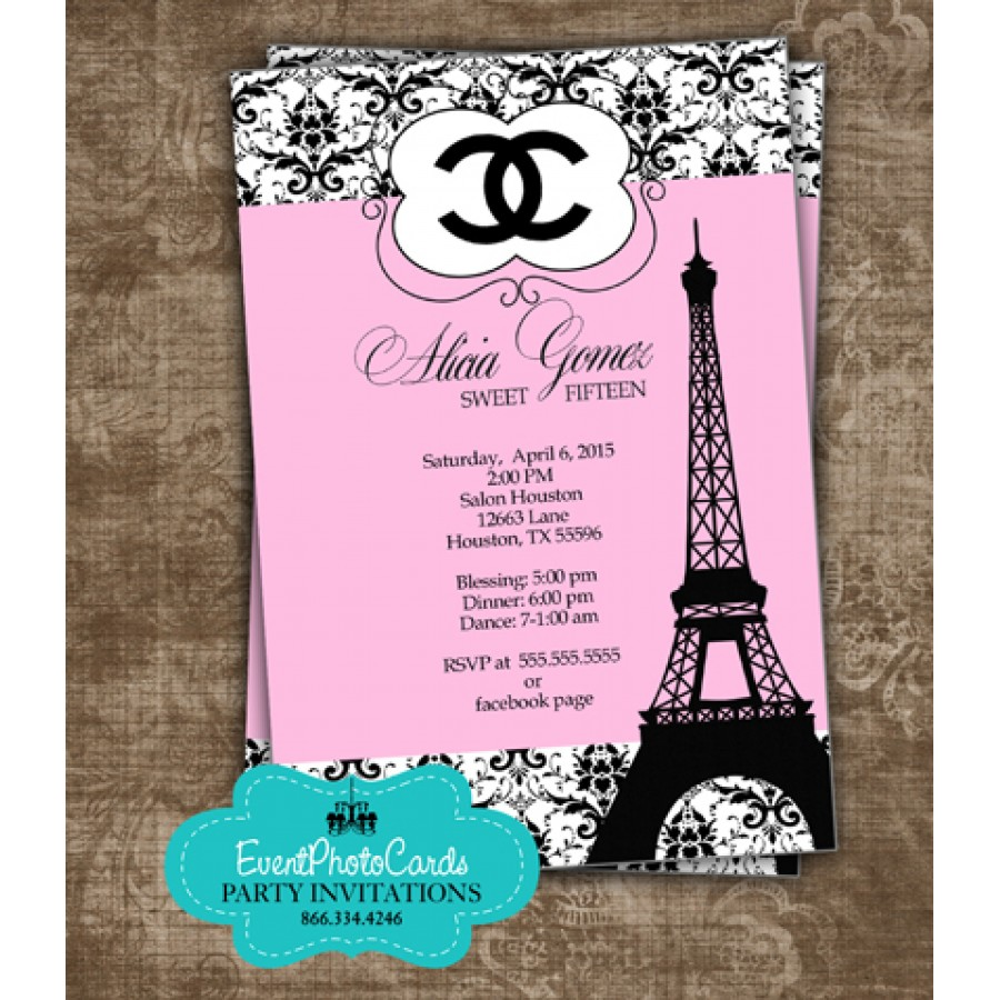 Butterflies Theme Quinceanera Invitations