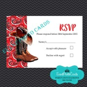 Red Boots RSVP