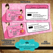 Princess Pink - Credit Card with Holder