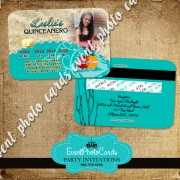 Seashell Quinceanera Invitations