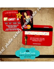 Awards Hollywood - Sweet 16 Invitations