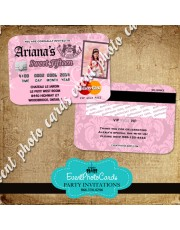 Juicy Couture Party Card Invitations