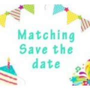 Matching Save the Date