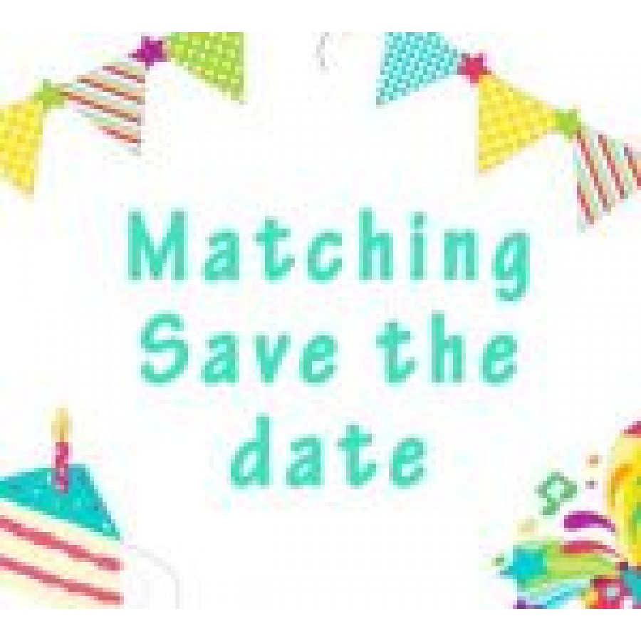 save the date match