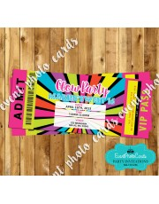 Glow Party Ticket Pass - 16