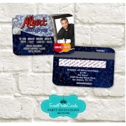 Grunge College Graduation Invitations - Personalized
