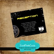 Filmstrip Reception Card