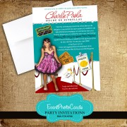 Red Carpet Quinceanera Announcements