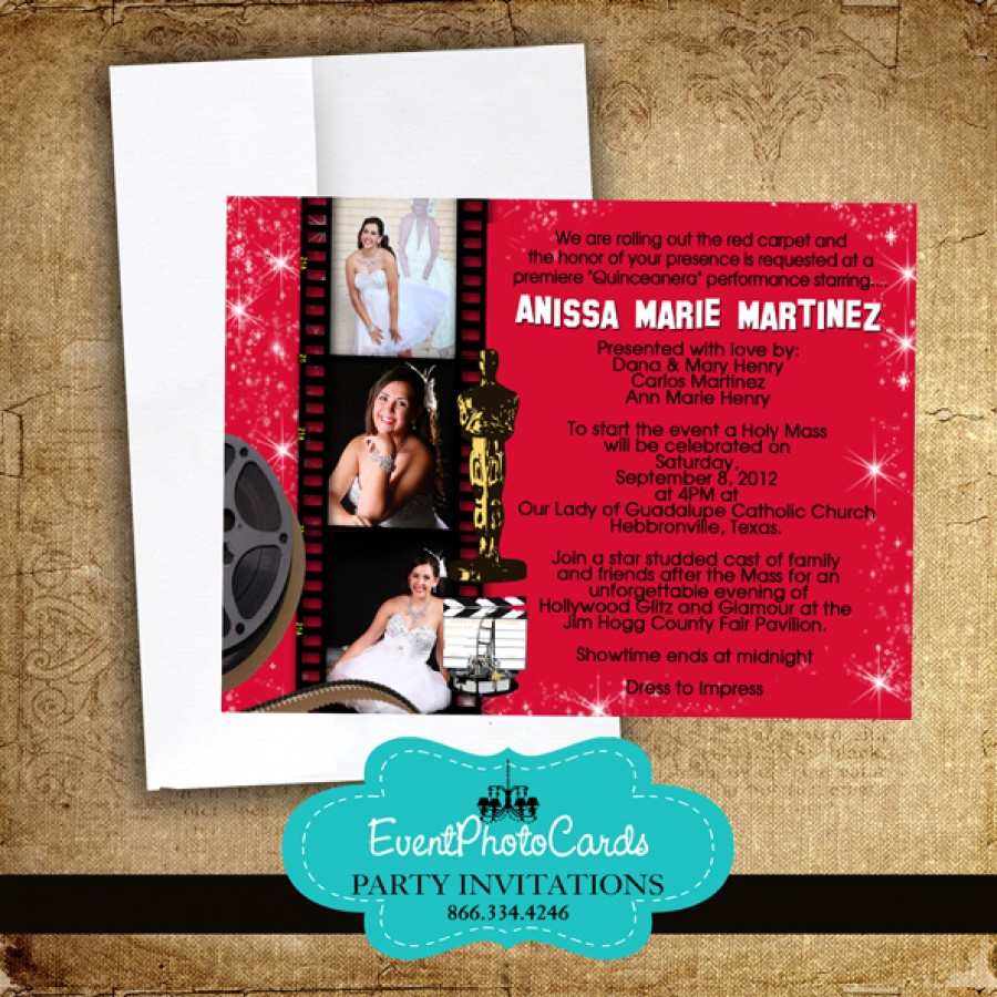 Beautiful 15 Party Invitations Vignette - Invitations and ...
