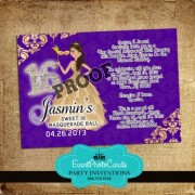 Doll Gold & Purple Sweet 16 - Masquerade