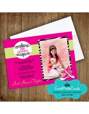 Quinceanera Converse Invitation Photo