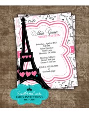 Paris Themed Sweet Fifteen