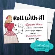 Roll with it!  Suspended Quinceanera R1