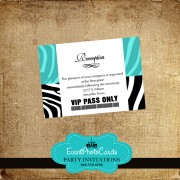 Aqua Reception Card Pass