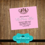 Juicy Couture  Reception Card