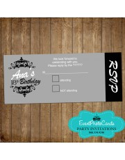 GreyTicket RSVP Card