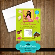 Candy Land Save the Date Quinceanera