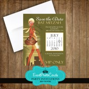 City Modern Save the Date Quinceanera