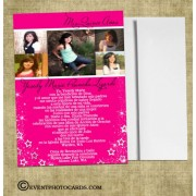 Under Stars Photo Quinceanera Invitations (any Color)