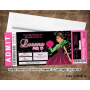 Pink Doll Ticket Backstage Pass