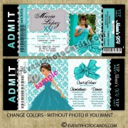 Breakfast at Tiffany Quince Invitaciones