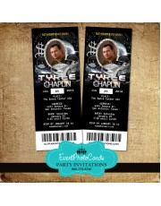 Car Bling Ticket Invitations - Male