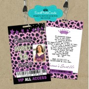Leopard Purple Quince Vip Pass