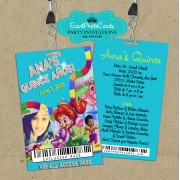 Candyland Vip Pass Invitations #2
