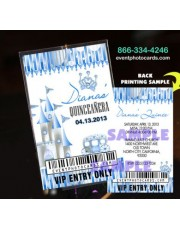 Princess  Backstage Pass Sweet 15 - Blue