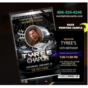Club DJ Vip Pass Invitations