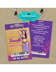Arabian Nights Purple - Vip Pass Quinceanera