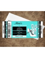 Tiffany Blue Style Ticket